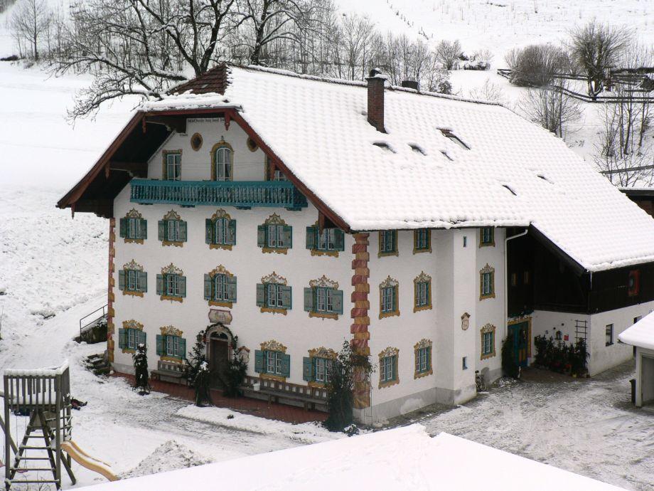 our farmhouse in winter
