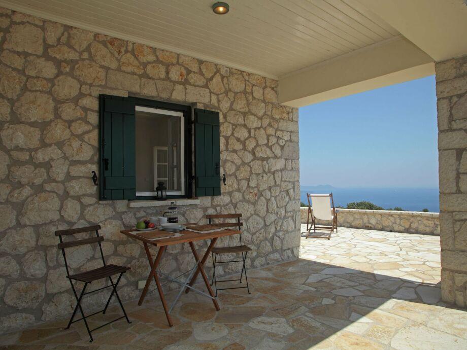 Außenaufnahme Villa Geofos