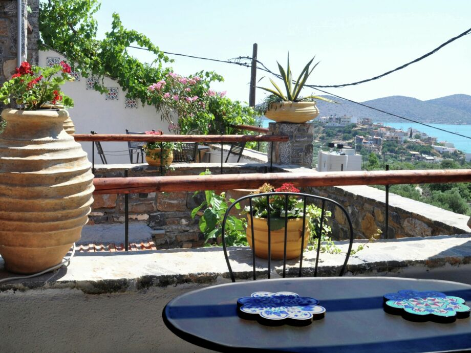 Außenaufnahme Villa Elia - Elounda Traditional Art Suites