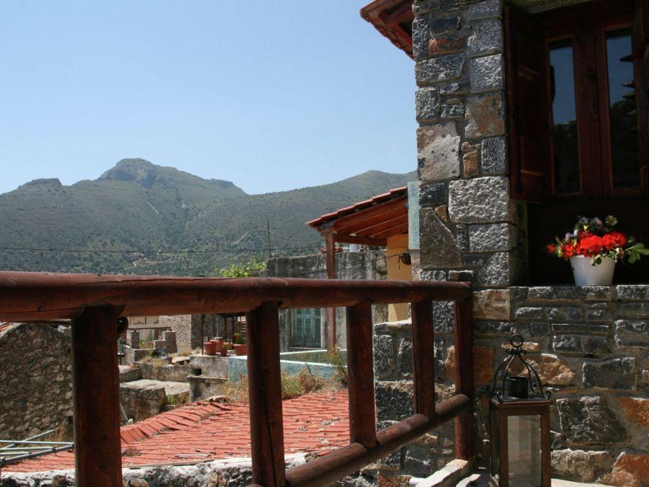 Außenaufnahme Villa Cactus Elounda Traditional Art Suites