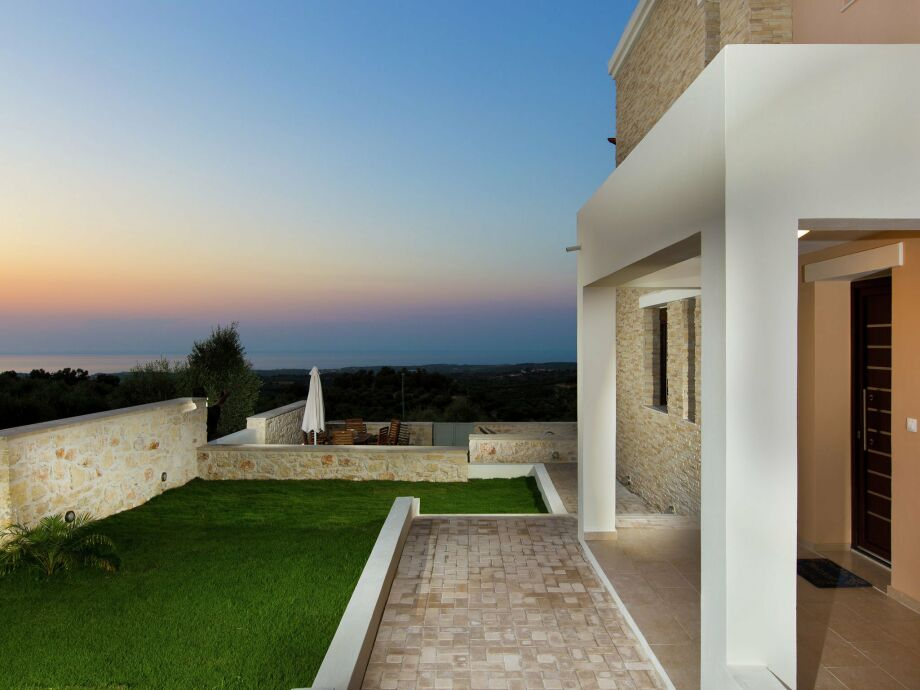 Außenaufnahme Villa Fragkia