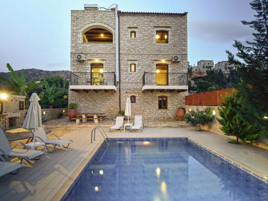 Außenaufnahme Villa Athena