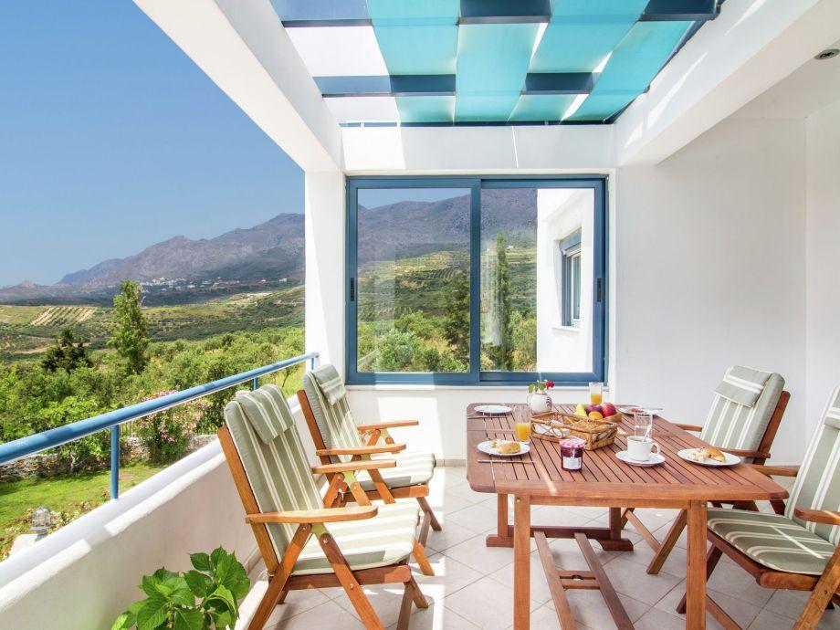 Außenaufnahme Villa Anemos