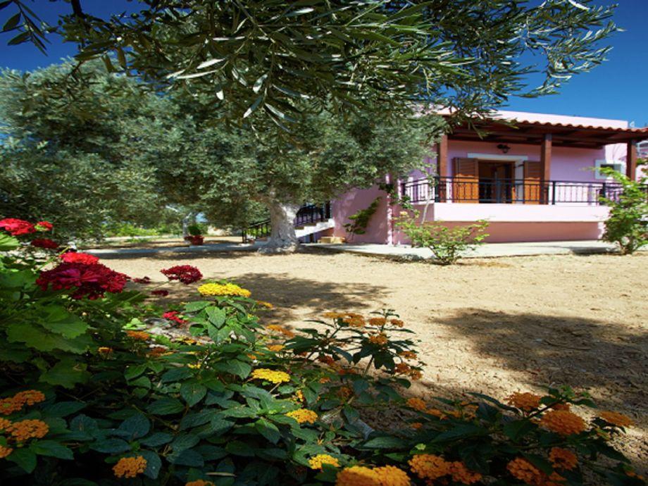 Außenaufnahme Villa Athina