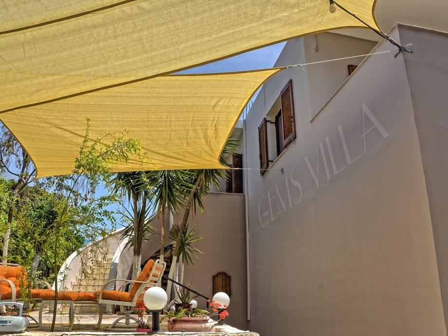 Außenaufnahme Villa Gems