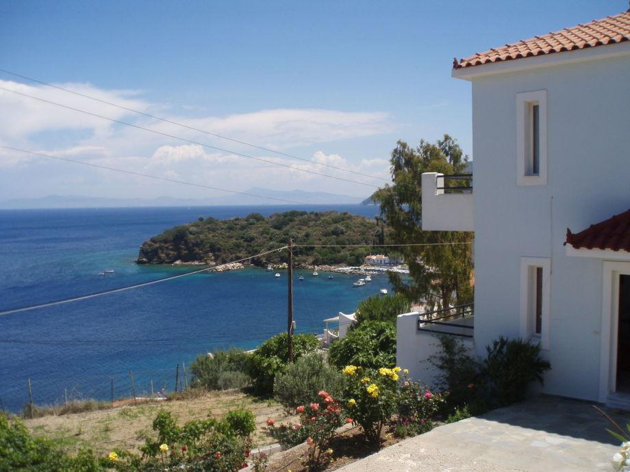 Außenaufnahme Villa Samos