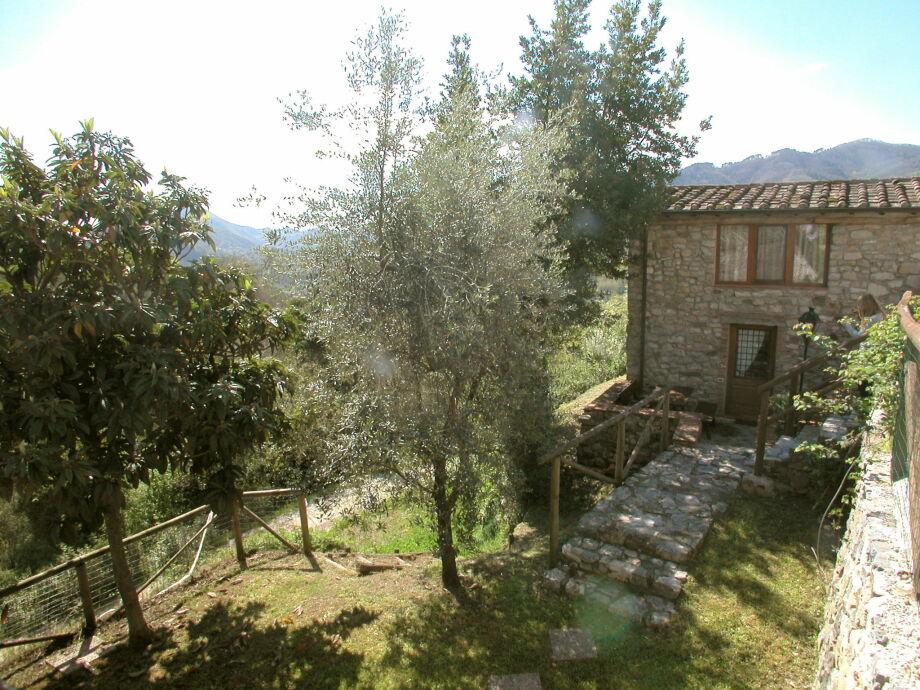 Außenaufnahme Villino Tosca