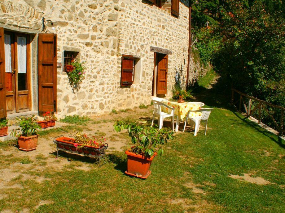 Außenaufnahme Casa Stalla