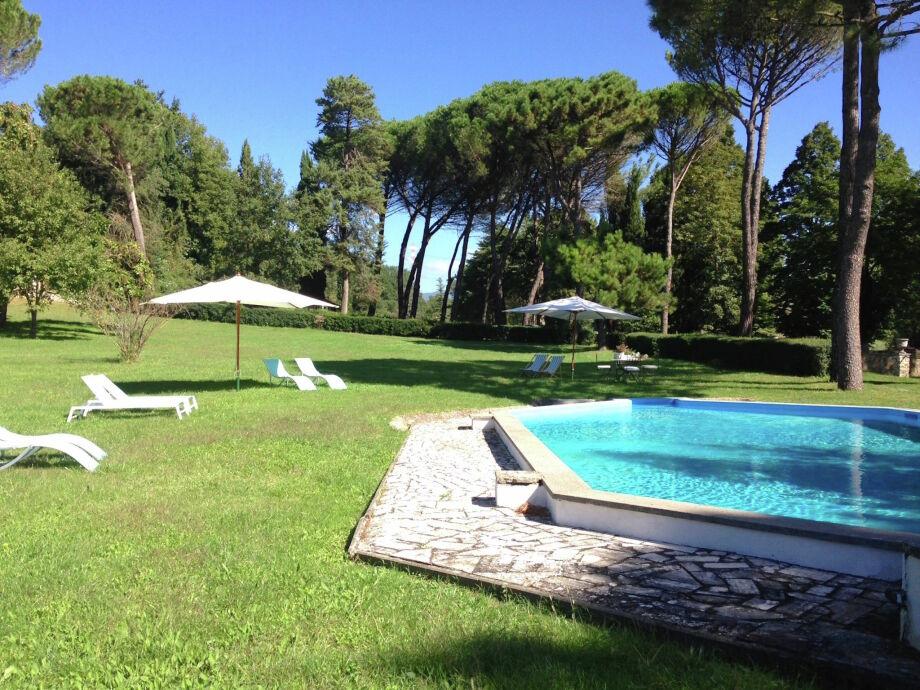 Außenaufnahme Villa Madama