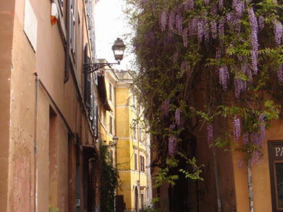 Außenaufnahme Pied à Terre Rome