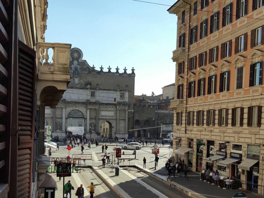 Außenaufnahme Piazza del Popolo