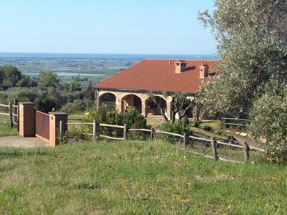 Außenaufnahme Casa Sugheri