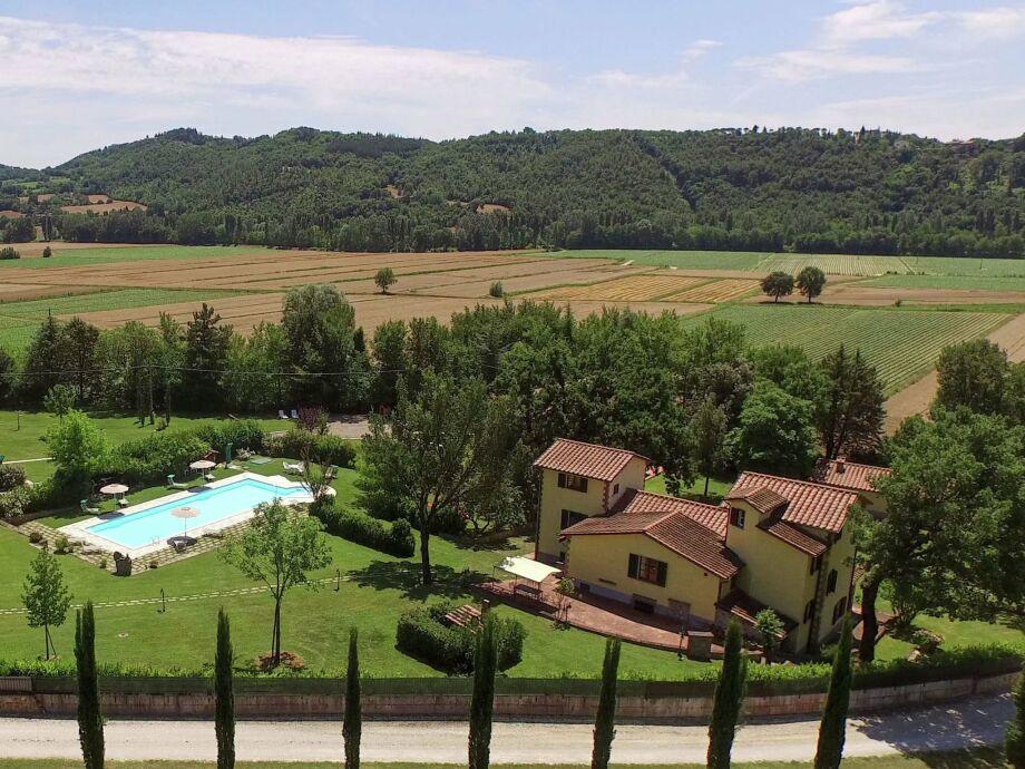 Außenaufnahme Villa Padronale