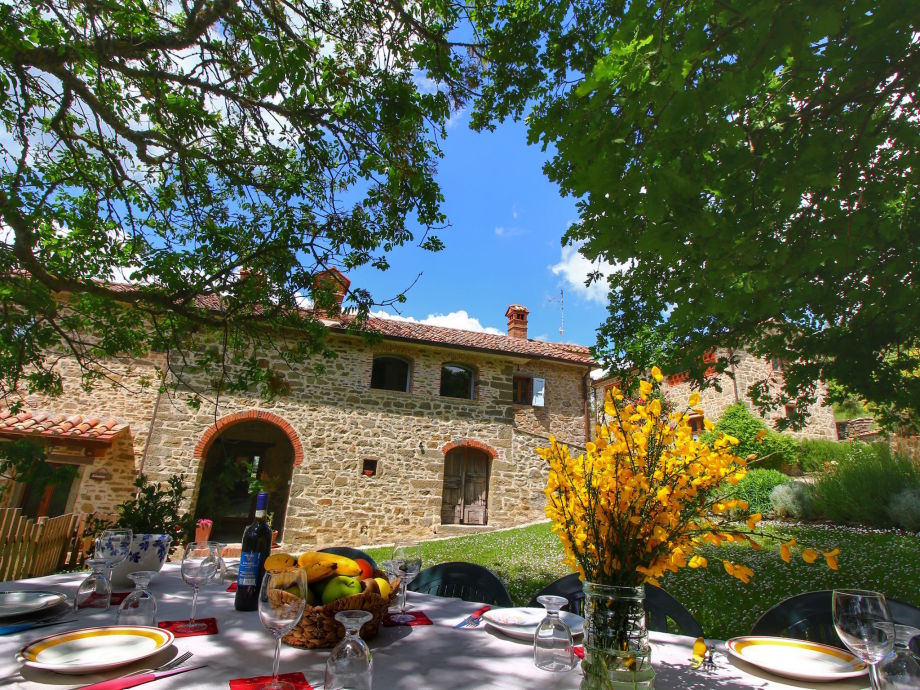 Außenaufnahme Villa Lippiano