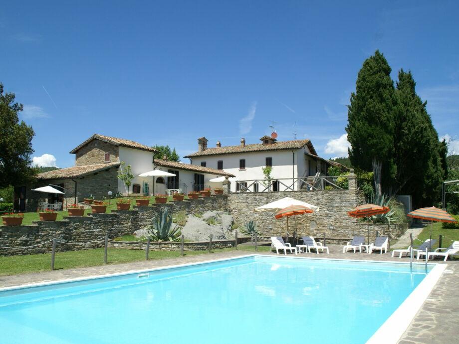 Außenaufnahme Villa La Capella  Tre