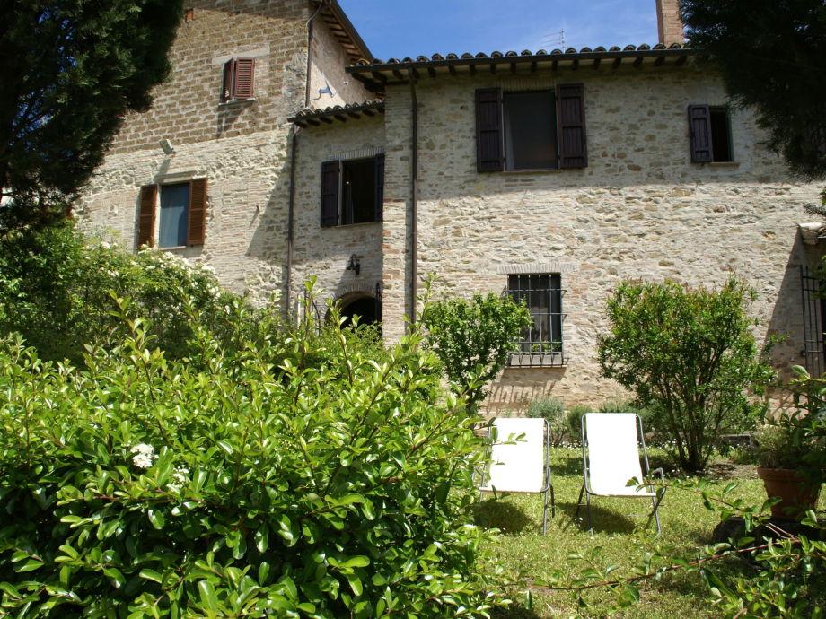 Außenaufnahme Casa Bevagna