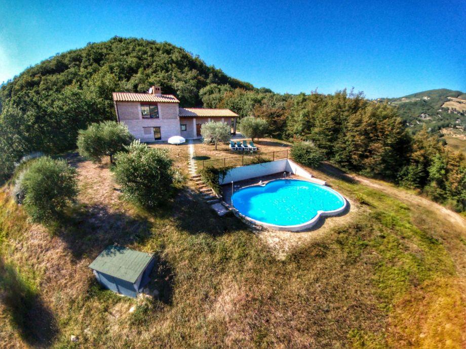 Außenaufnahme Villa Fata Morgana