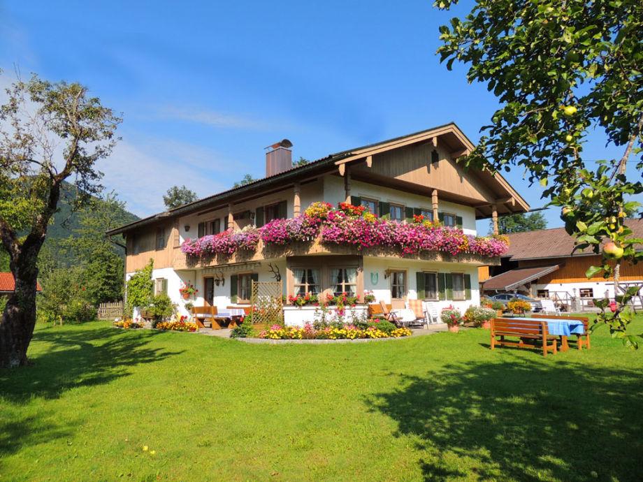 Willkommen im Ferienhaus Streidl, Lenggries