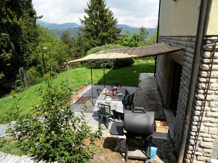 Außenaufnahme Villa De Hura piano terra