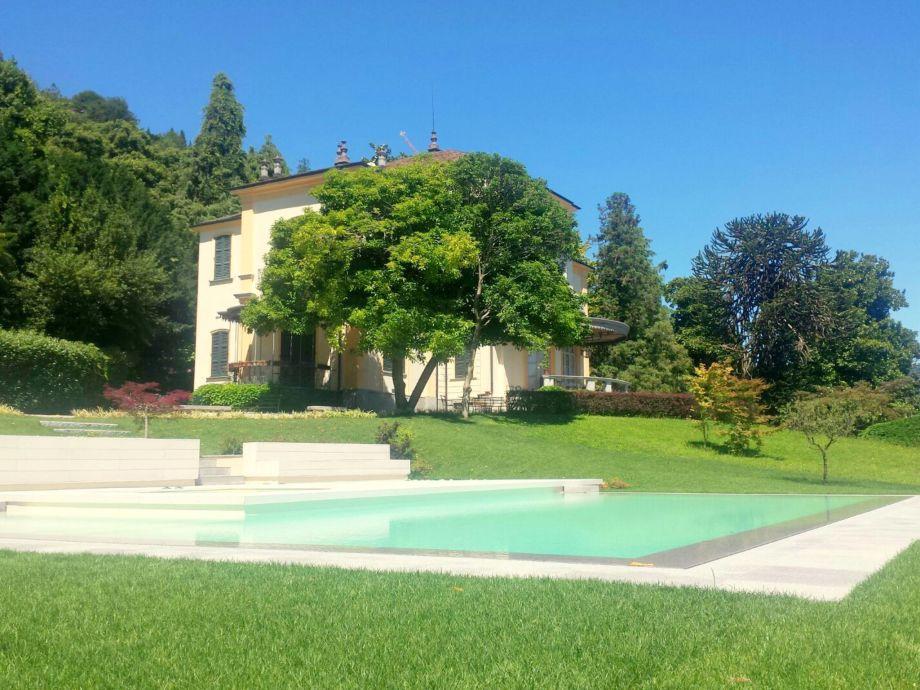 Außenaufnahme Villa Favorita Grande