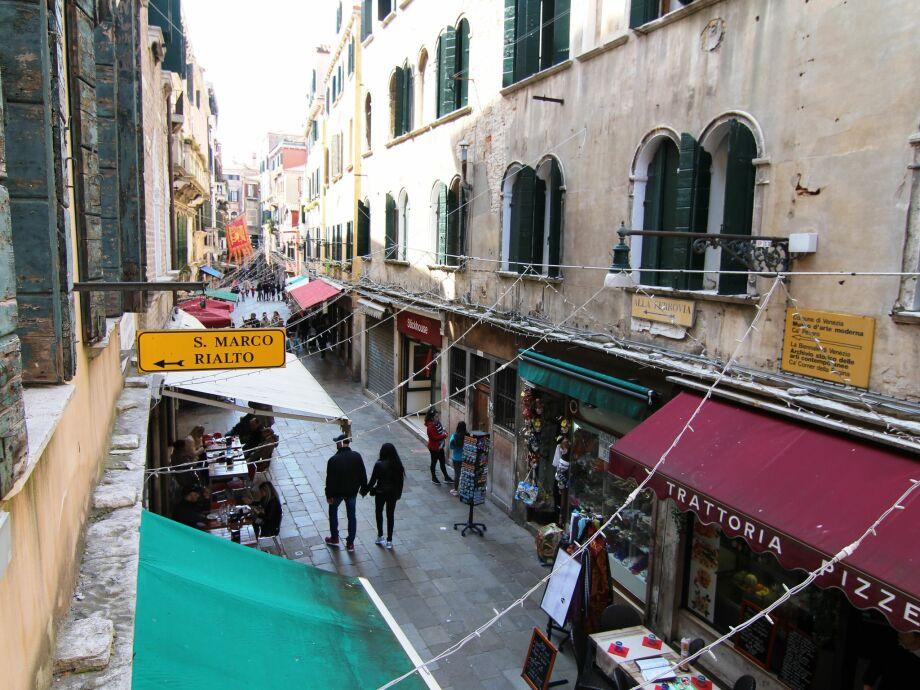 Außenaufnahme Gondola di Rialto Due