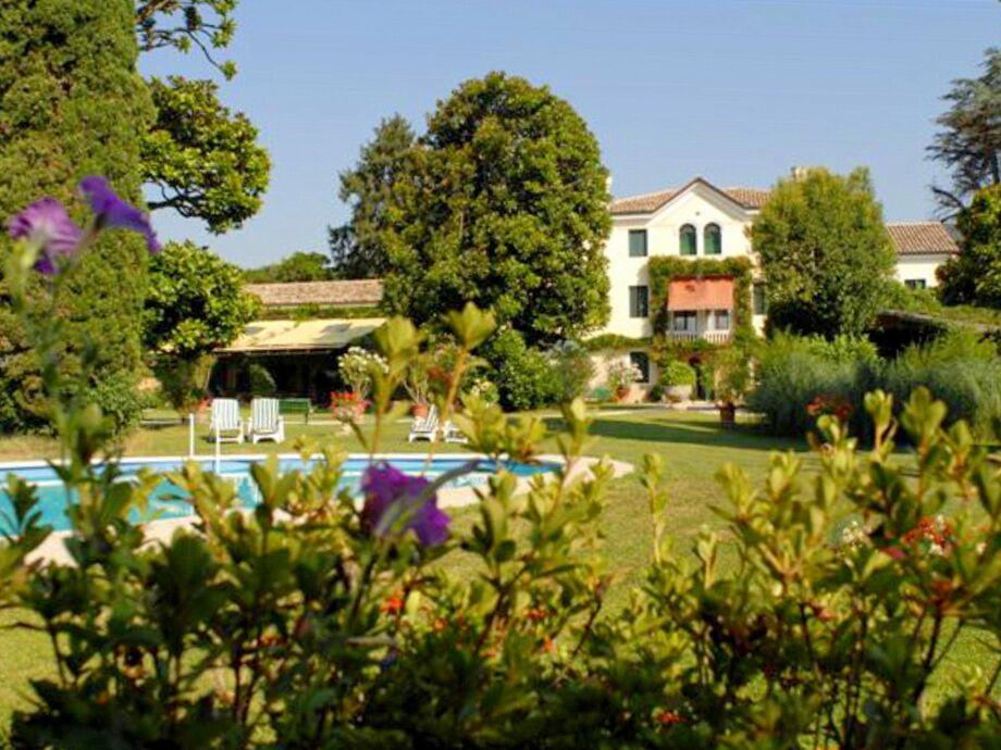 Außenaufnahme Villa Veneta a Maser