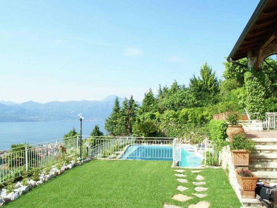 Außenaufnahme Villa Albisano