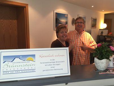 Ihr Gastgeber Kornelia und Bernd Wolf