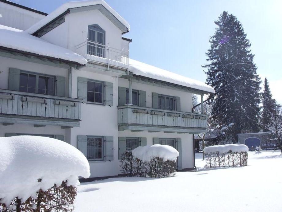 Brünnstein im Winter