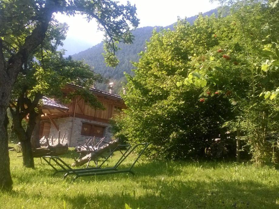 Außenaufnahme Chalet Al Mulino - Bilocale