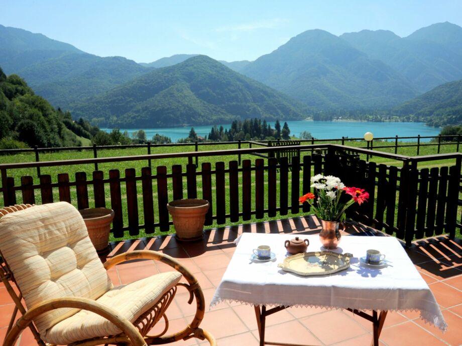 Außenaufnahme Bellavista sul Lago di Ledro