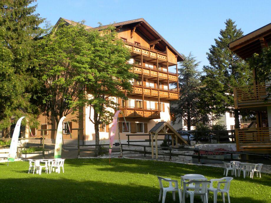 Außenaufnahme Folgaria Residence Bilo