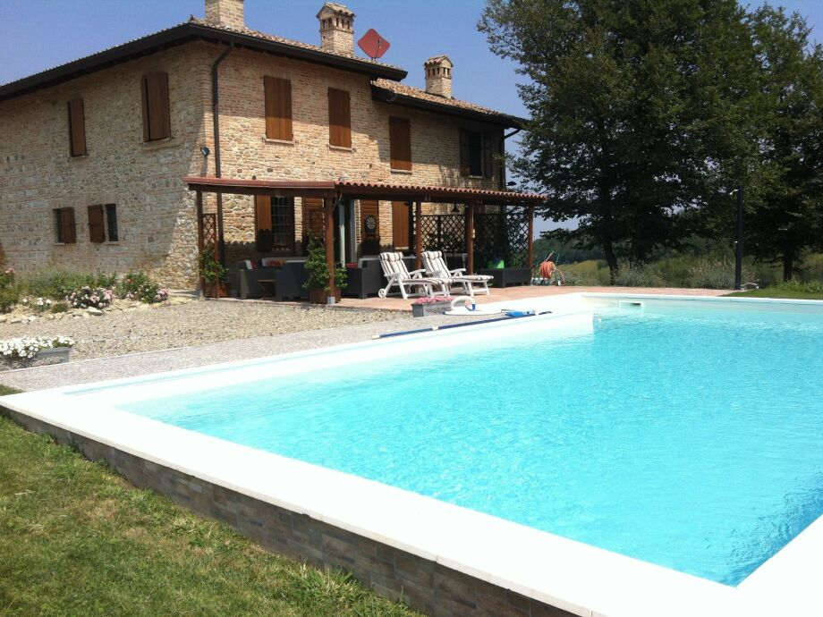 Außenaufnahme Villa Manganina