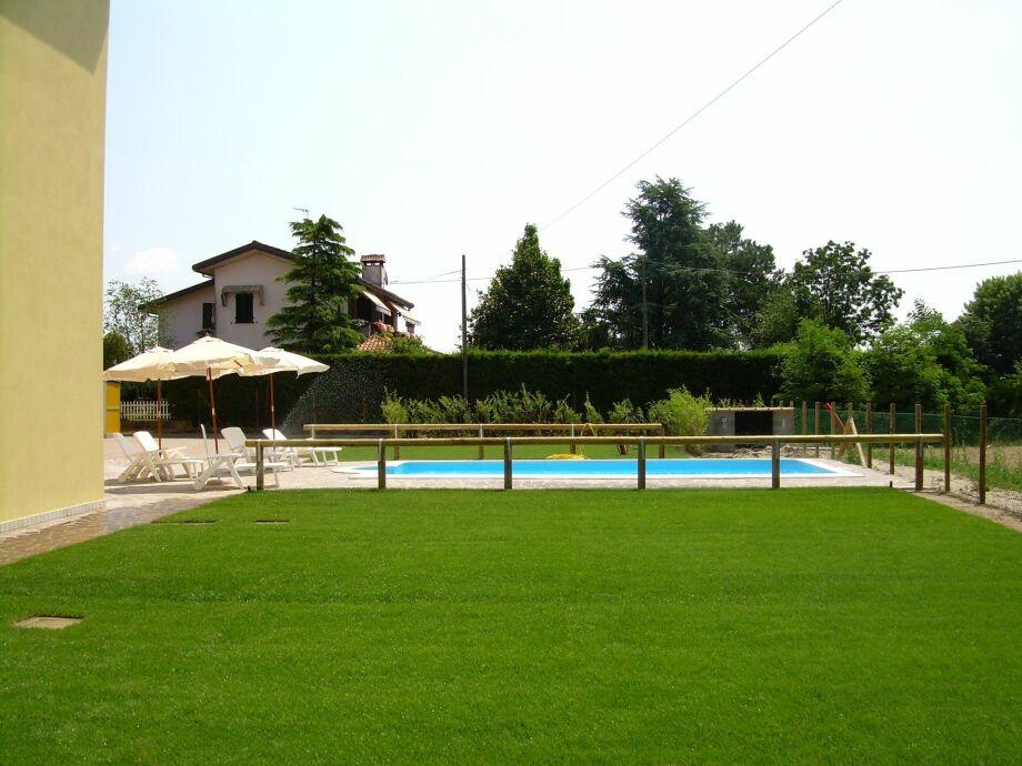 Außenaufnahme Casa Rosolina Due