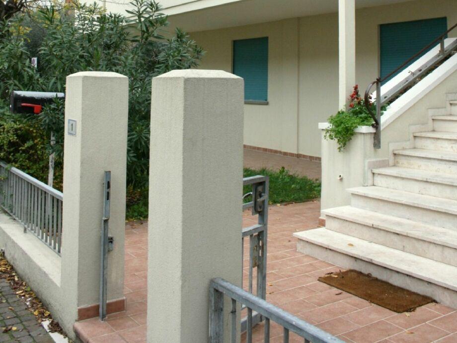 Außenaufnahme Residenza Scarlatti
