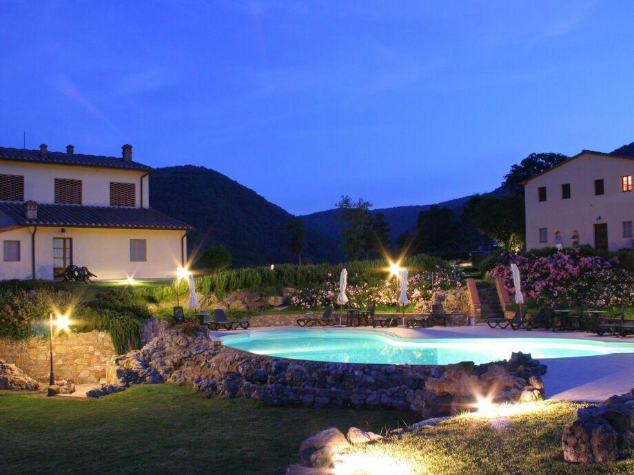 Außenaufnahme Casa San Gimignano