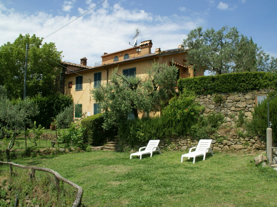 Außenaufnahme Borgo Patrizia Gorgole