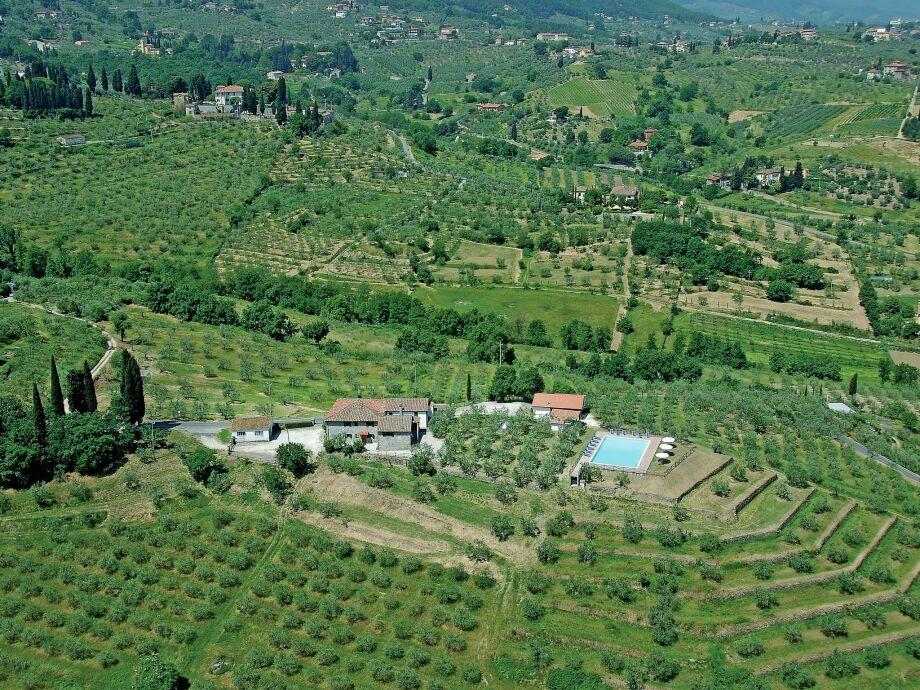 Außenaufnahme La Casa dei Due Olivi