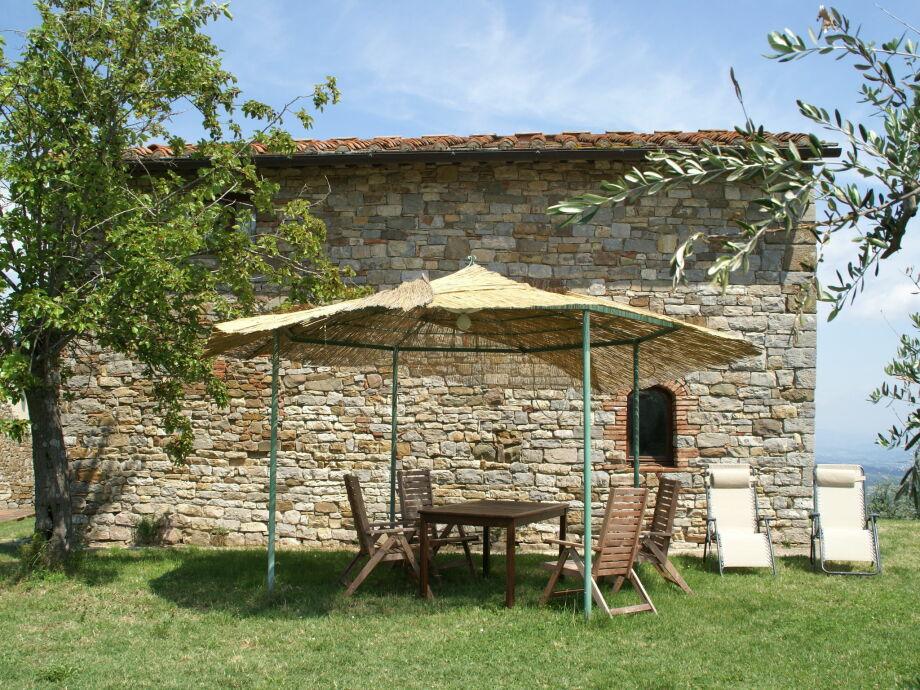 Außenaufnahme Borgo di Casignano Ospizio