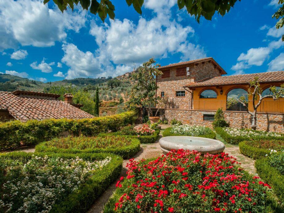 Außenaufnahme La Casa nel Borgo Trilo