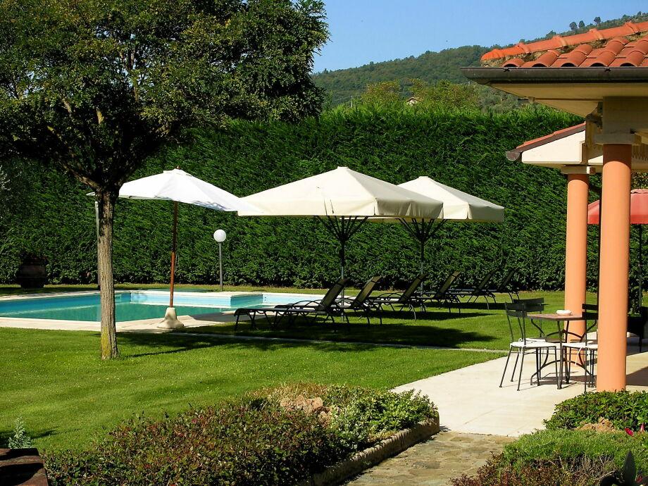 Außenaufnahme Villa a Loro Ciuffenna