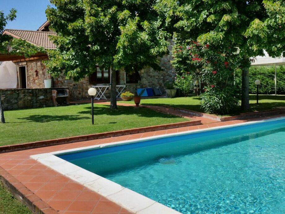 Außenaufnahme Villa Toscana