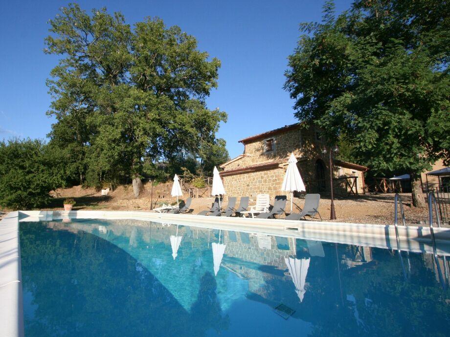 Außenaufnahme Pool Cottage