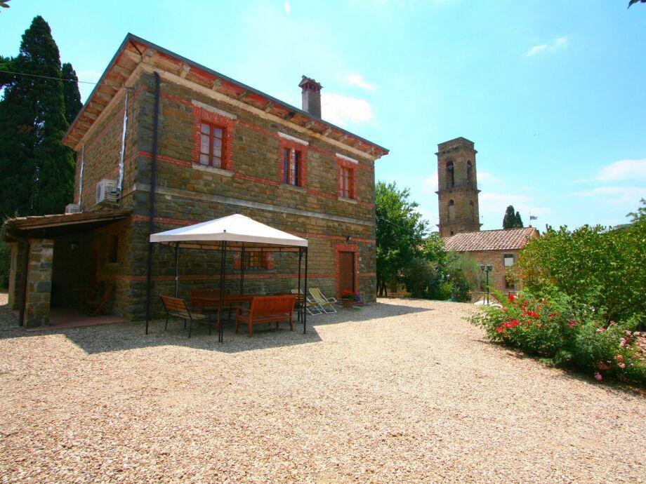 Außenaufnahme Villa Cipressi