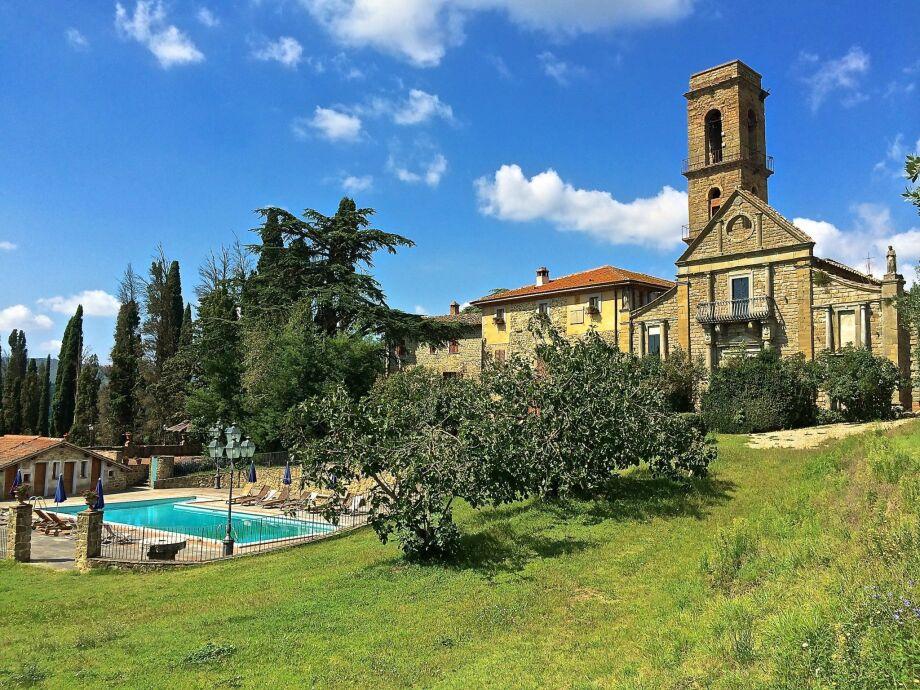 Außenaufnahme il Castello del Cardinale