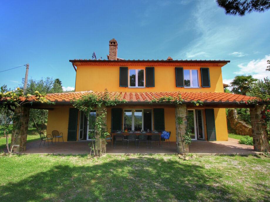 Außenaufnahme Villa Lucignano