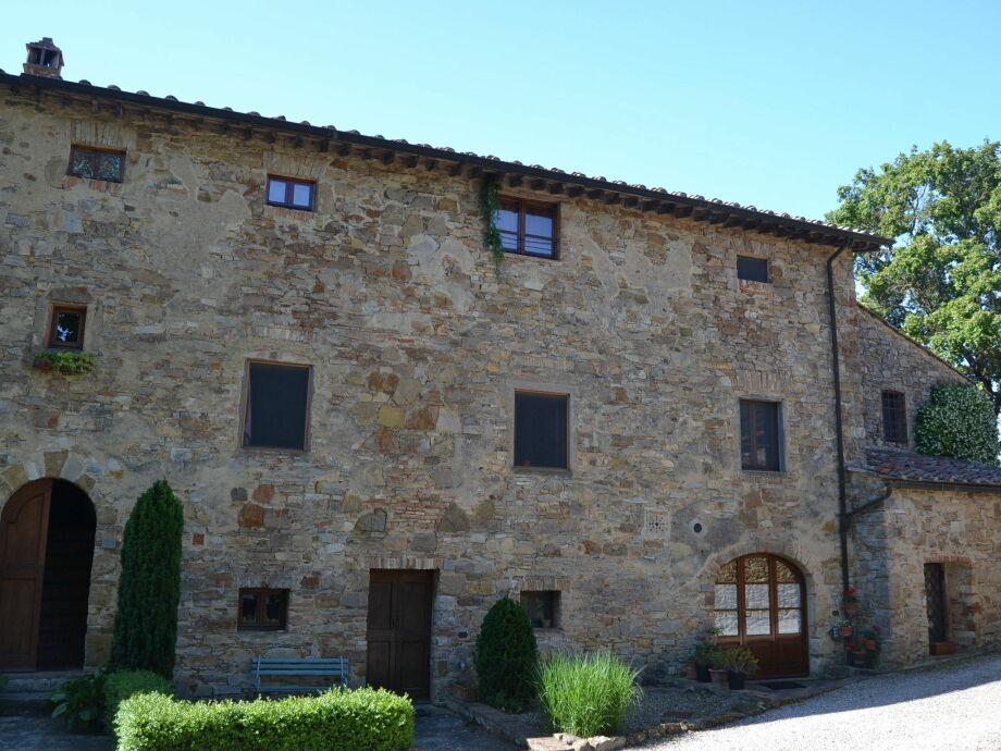 Außenaufnahme Casa Chianti