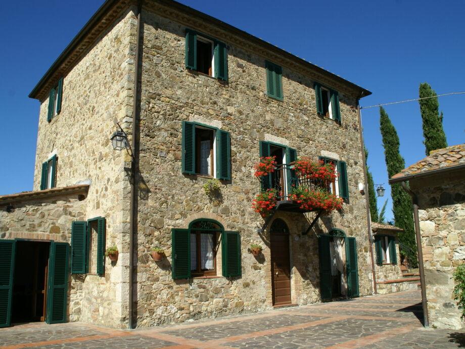 Außenaufnahme Villa Piazze