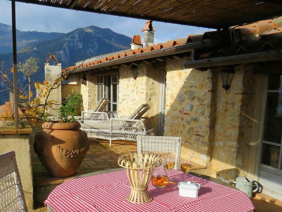 Außenaufnahme Borgo Gallinaio Delmona
