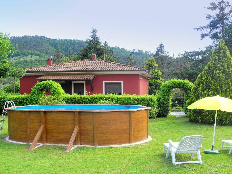 Außenaufnahme Casa Girasole di Camaiore